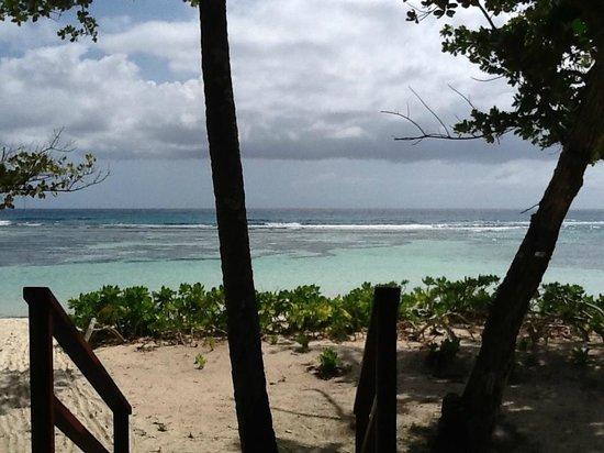 Hilton Seychelles Labriz Resort & Spa : Vue depuis le balcon de la chambre