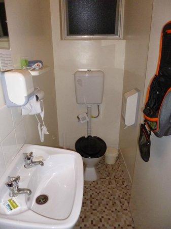 Norfolk Motor Inn: Toilet seemed very old fashioned