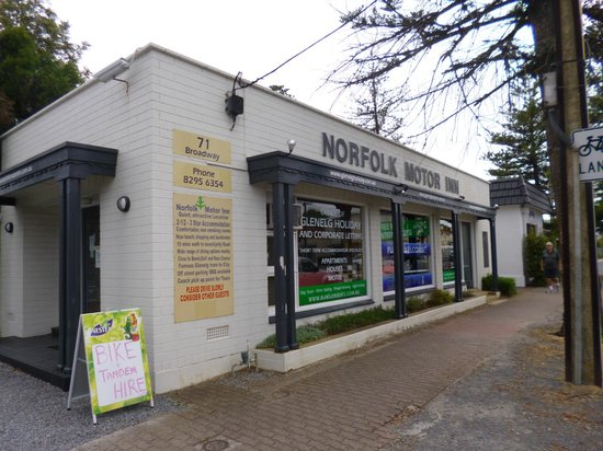 Norfolk Motor Inn: Front reception building