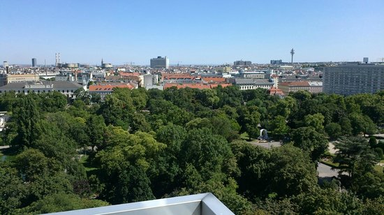 Hotel Am Parkring: view from the terrace