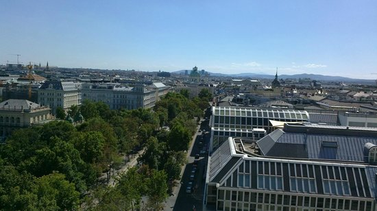 Hotel Am Parkring : view from the terrace