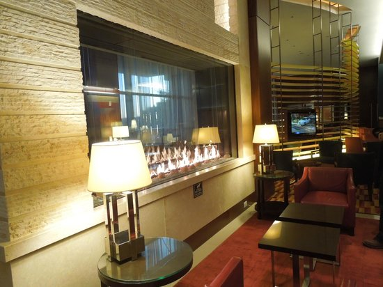 lobby area picture of residence inn by marriott. Black Bedroom Furniture Sets. Home Design Ideas