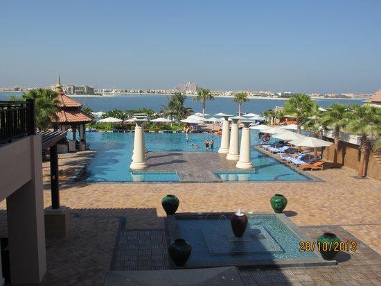 Anantara The Palm Dubai Resort View From The Lotus Lounge