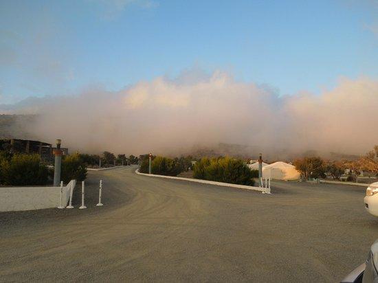 Sunrise Resort: Clouds in the resort incredible!