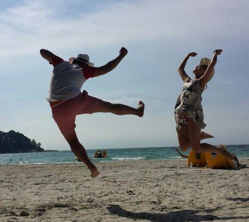Nirwana Gardens - Mayang Sari Beach Resort: Enjoying every single minute...