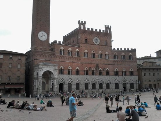 Bed and Breakfast Camollia: piazza del campo