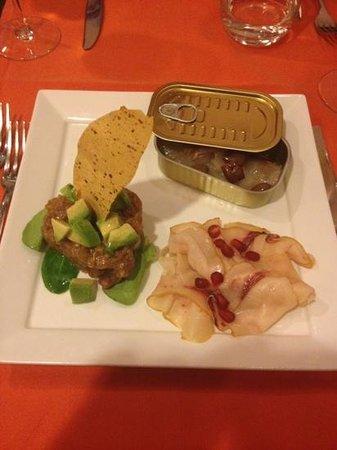 20e20 Osteria Enoteca: antipasto pesce.. buono e ben presentato