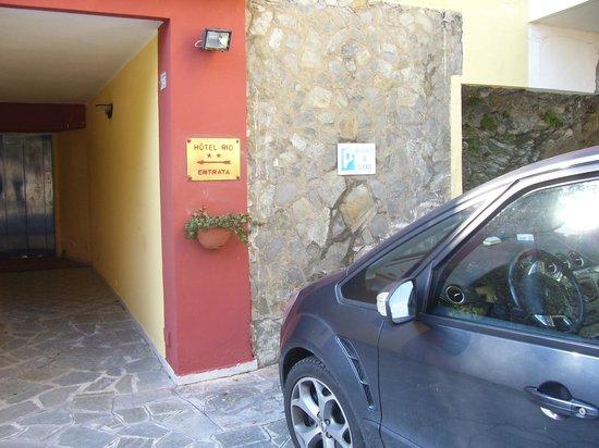 Hotel Rio: Entrata