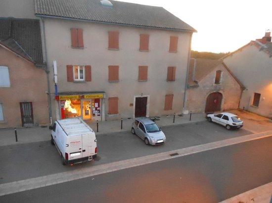 Hotel de la Poste : vue de notre chambre