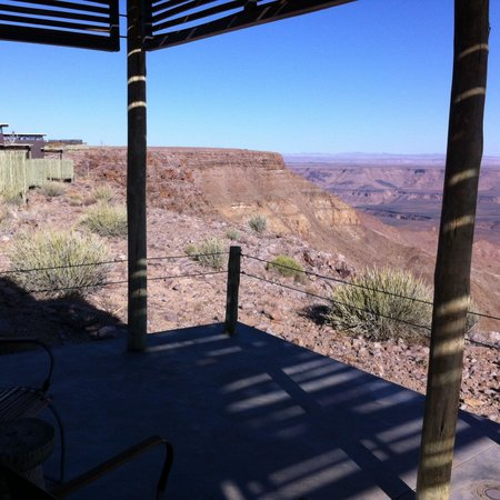 Fish River Lodge: Vue de ma chambre