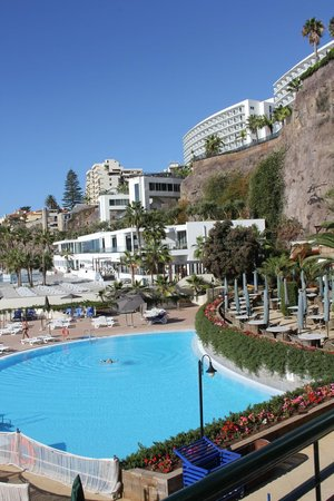 Hotel The Cliff Bay: Lower Pool area
