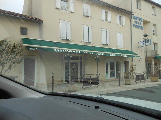 Hotel de la Poste : Extérieur de l'hôtel