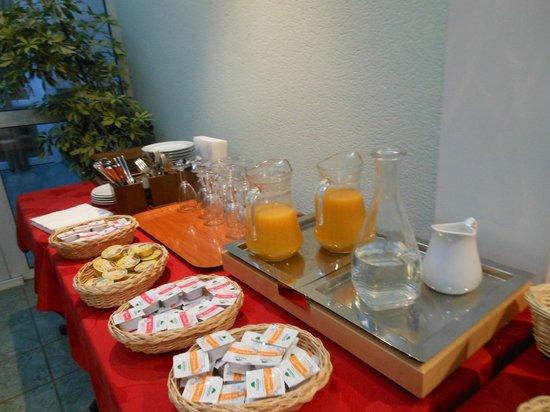 Hotel de la Poste : le petit déjeuner