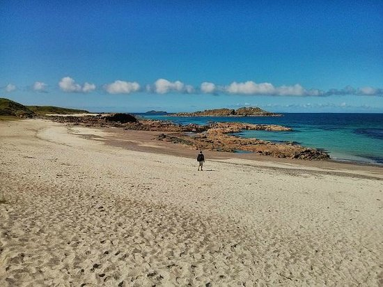 West Coast Tours - Oban: Iona - white sand