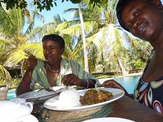 Kipungani Explorer : Lunch
