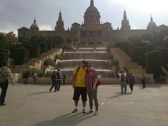 Bornbike Barcelona : Castelo de Montjuic.