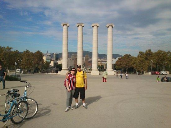 Bornbike Barcelona : os 4 pilares de Barcelona.
