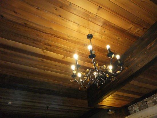 Rothenburg Lodge: 房間內的燈