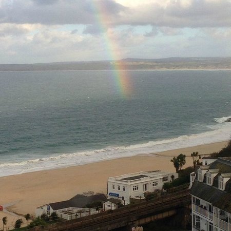 St. Ives Harbour Hotel & Spa: End of the Rainbow