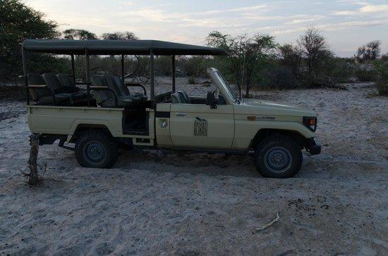 Leroo La Tau: Fahrzeug für Wildbeobachtungsfahrten