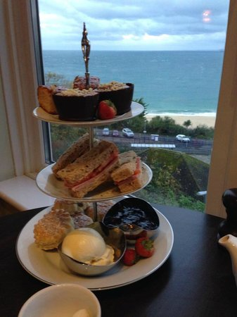St. Ives Harbour Hotel & Spa: Afternoon Tea