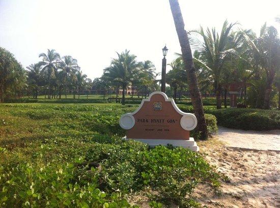 Park Hyatt Goa Resort and Spa: Resort from Beach