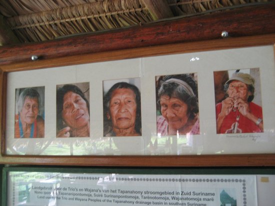 Jungle Lodge Palumeu: Oude indianen