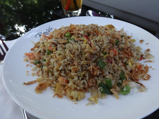 Rosso Vivo Dine & Lounge : rice
