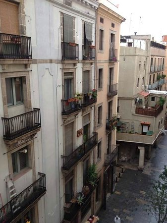 Park Hotel Barcelona : View from the room