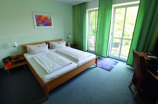 Arcus Hotel Garni: Helle Doppelzimmer