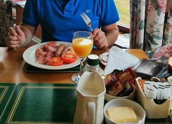 Ardvreck House : Scottish breakfast