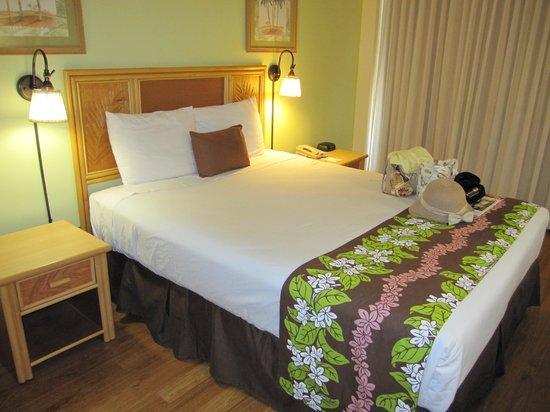 Waikiki Sand Villa Hotel: 一人には十分な広さ