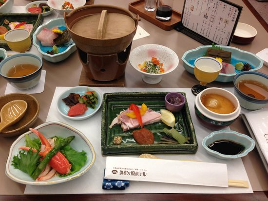 Midagahara Hotel: Dinner