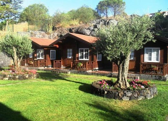 Etna Hut bed and breakfast: Chalet