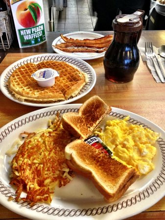 Waffle House: The food :)