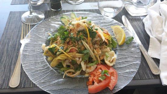 "Le Grand Baie : Salade de seiche façon ""thai"""