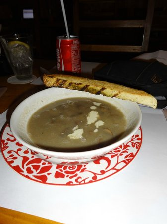 Q Smokehouse: soup
