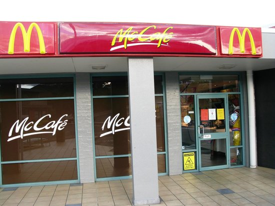 McDonald's: The entrance