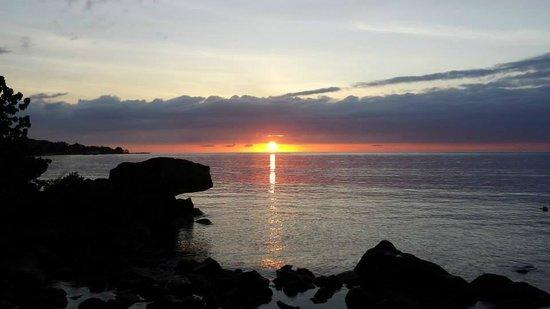 Maritim Resort & Spa Mauritius: Wunderschöner Sonnenuntergang