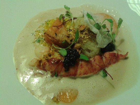 Ravintola Savoy: Poached lobster