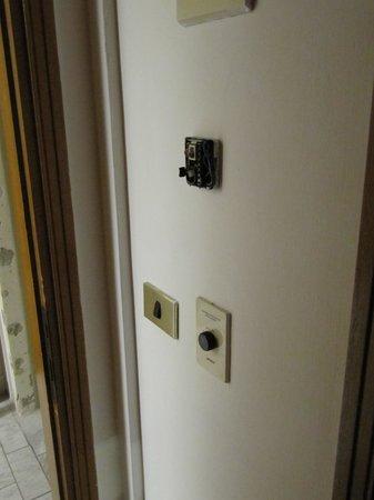 Hotel Albatros: Jamba arrancada y termostato también