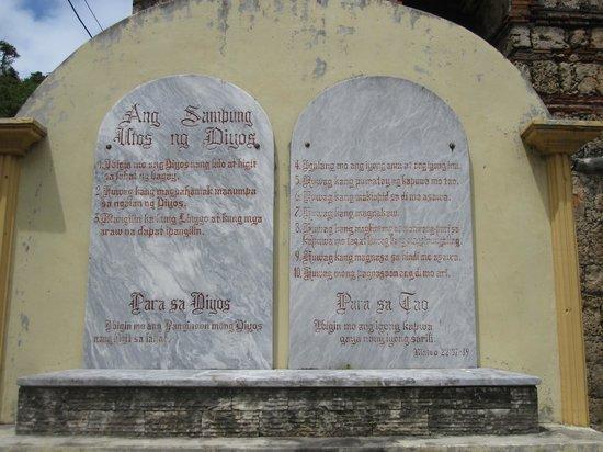 St. Joseph Cathedral: Ten Commandments
