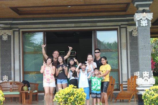 Villa Agung Khalia: Say Cheese