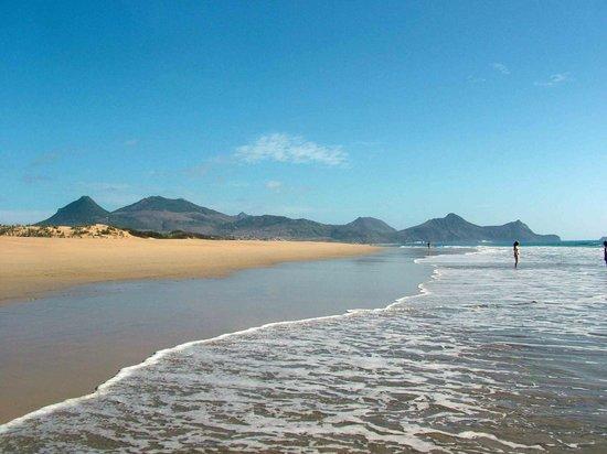 Pestana Porto Santo All Inclusive : Deserted beach to ourselves.