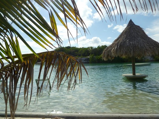 Clarion Suites Roatan at Pineapple Villas : Beach at French Key