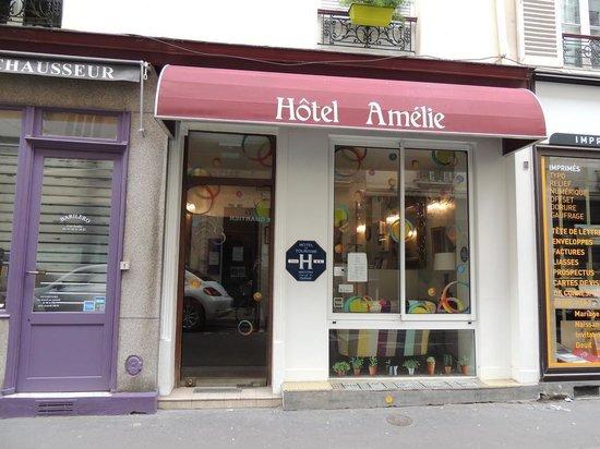 Hotel Amelie: Frente do hotel