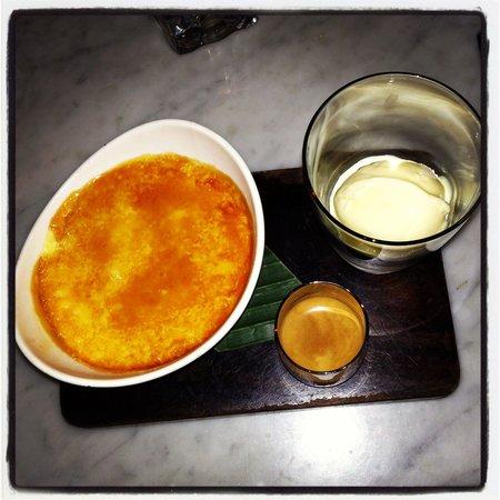 Mamasan: Superb dessert, a must try, creame brûlée with affogato. Total winner ����