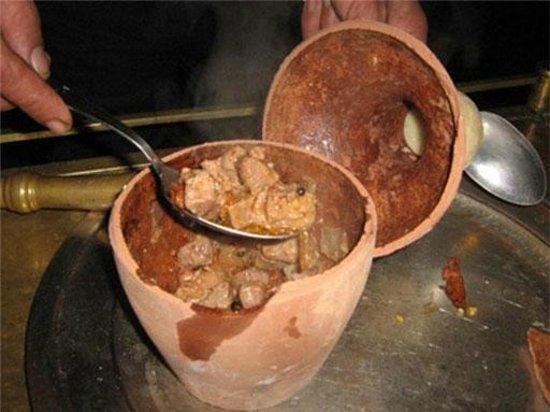 Fast Food Kebab House : pottery kebab