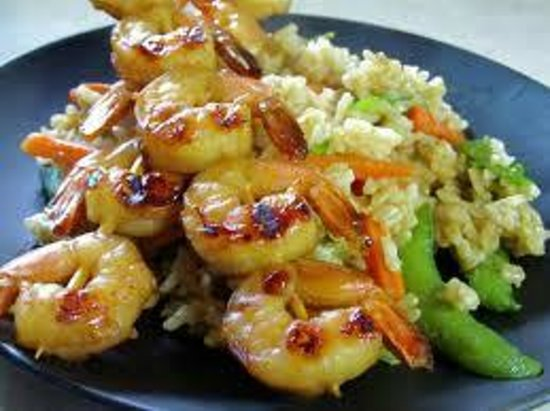 Fast Food Kebab House : shrimp sish