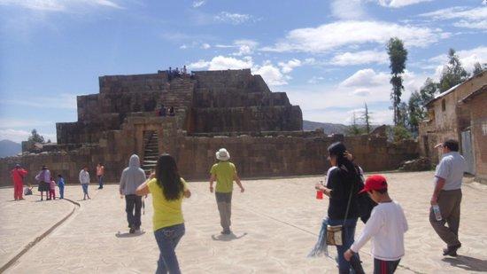 Vilcashuaman, Peru: Pirámide Inca